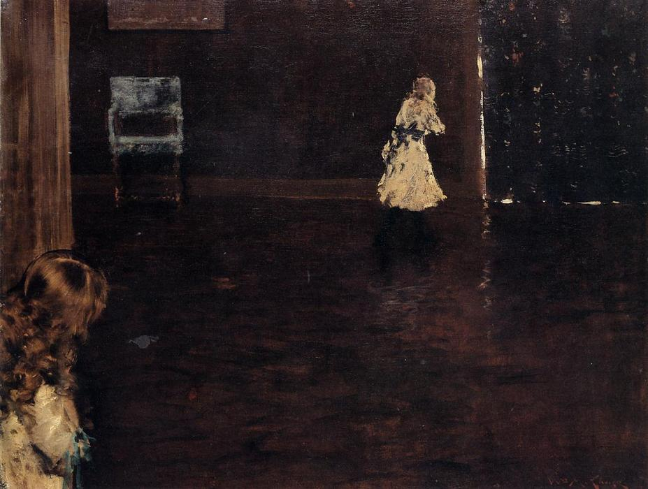 Hide and Seek, 1888 by William Merritt Chase (1849-1916, United States) | ArtsDot.com