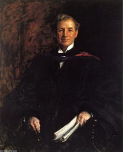William Merritt Chase - Portrait of President William Waugh Smith