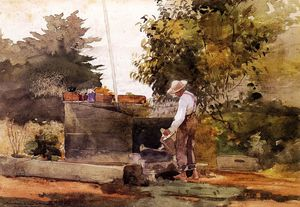 Winslow Homer - At the Well