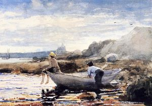 Winslow Homer - Boys in a Dory 1