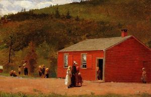 Winslow Homer - School Time