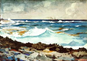Winslow Homer - Shore and Surf