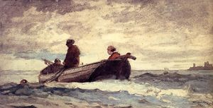 Winslow Homer - Tynemouth Priory, England