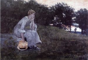 Winslow Homer - Waiting