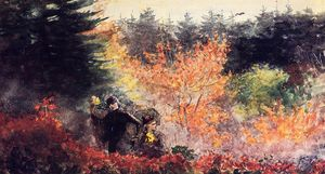 Winslow Homer - Woods at Prout-s Neck