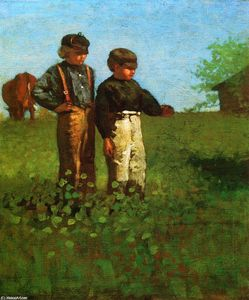 Winslow Homer - Young Farmers