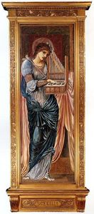Edward Coley Burne-Jones - St. Cecilia