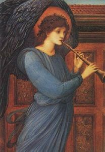 Edward Coley Burne-Jones - The Angel