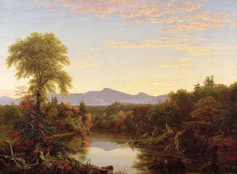 Catskill Creek, New York, Oil by Thomas Cole (1801-1848, United Kingdom)