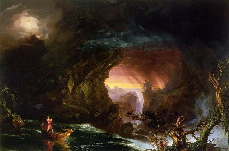 The Voyage of Life, Manhood, Oil by Thomas Cole (1801-1848, United Kingdom)