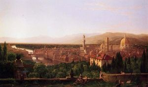 Thomas Cole - View of Florence from San Miniato