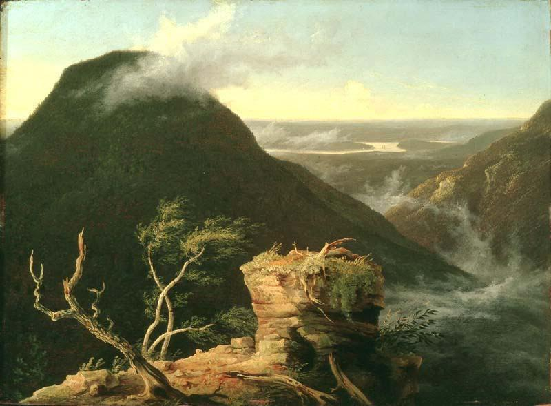 View of the Round-Top in the Catskill Mountains, Oil by Thomas Cole (1801-1848, United Kingdom)