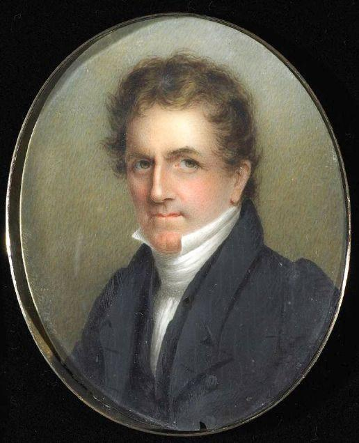 Portrait of a Man, Oil by Anna Claypoole Peale (1791-1878, United States)