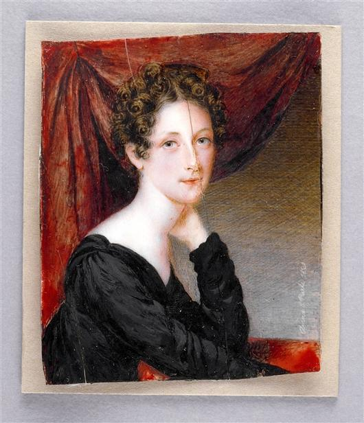 Rosalba Peale, Oil by Anna Claypoole Peale (1791-1878, United States)