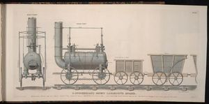 Benjamin Tanner - Patent Locomotive Engine