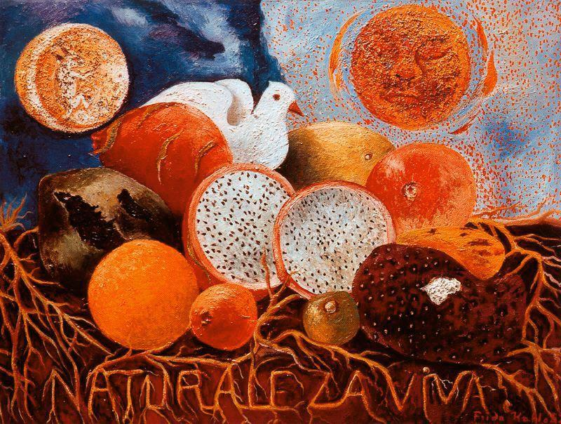 Living Nature, Oil by Frida Kahlo (1907-1954, Mexico)