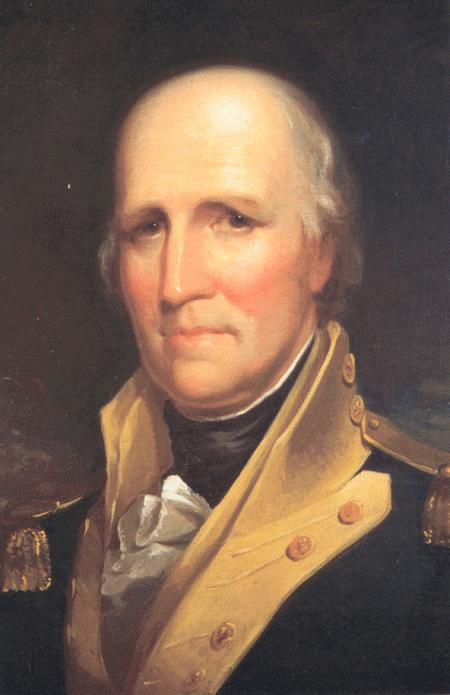 George Rogers Clark by Matthew Harris Jouett (1788-1827, United States) | Oil Painting | ArtsDot.com