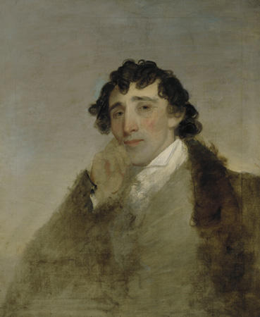 Peter Grayson, Oil On Canvas by Matthew Harris Jouett (1788-1827, United States)