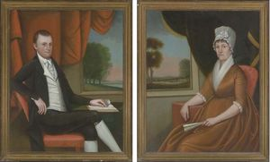 Ralph Eleaser Whiteside E.. - A Pair of Double Portrait..