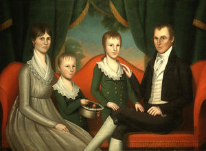 Ralph Eleaser Whiteside E.. - Family Portrait