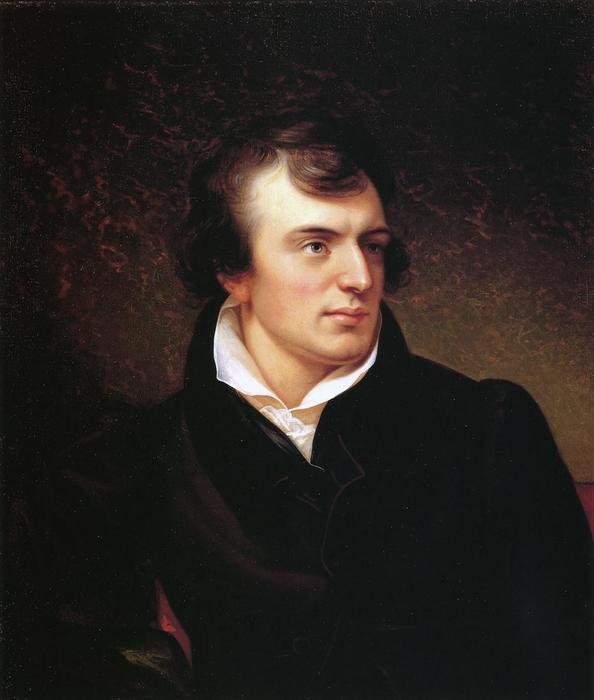 Horatio Greenough, 1829 by Rembrandt Peale (1778-1860, United States) | Painting Copy | ArtsDot.com