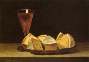 Rubens Peale - Cake and Wine Glass