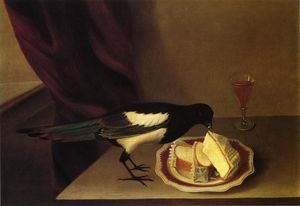 Rubens Peale - Magpie Eating Cake
