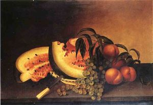 Rubens Peale - Still Life with Watermelon