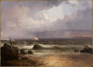Thomas Doughty - Coming Squall (Nahant Bea..