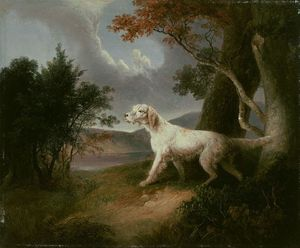 Thomas Doughty - Landscape with Dog