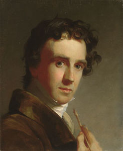Thomas Sully - Portrait of the Artist