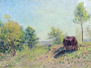 Alfred Sisley - The Edge of the Forest
