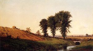 Alfred Thompson Bricher - Haying