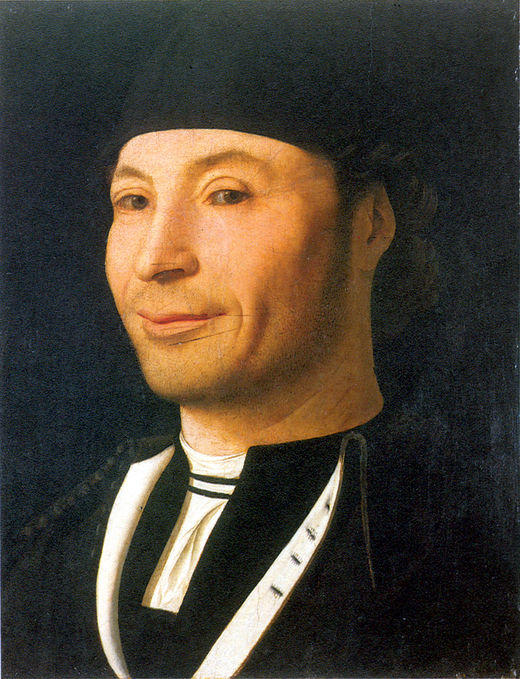 Portrait of a Man 6, Oil by Antonello Di Giovanni Di Antonio (Antonello Da Messina) (1430-1479, Italy)