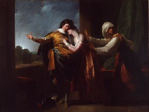 Benjamin West - Romeo and Juliet