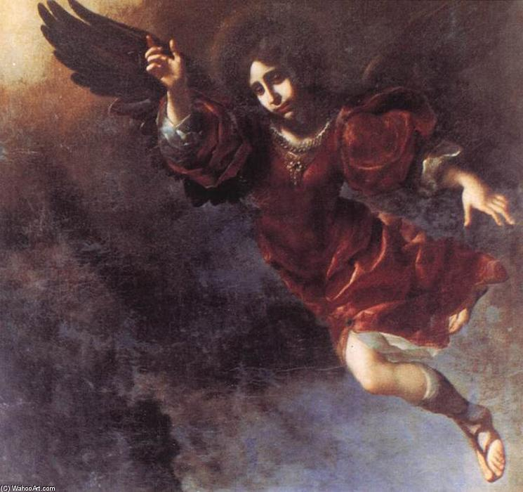 The Guardian Angel, 1675 by Carlo Dolci (1616-1686, Italy) | Art Reproduction | ArtsDot.com