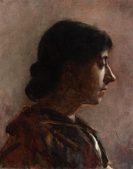 Head of a Woman 2 by Cecilia Beaux (1855-1942, United States) | Museum Quality Reproductions | ArtsDot.com