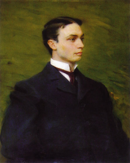 Henry Howard Houston, Jr., Oil by Cecilia Beaux (1855-1942, United States)