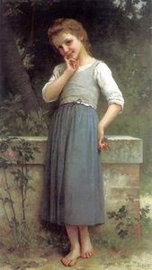 Charles Amable Lenoir - The Cherry Picker
