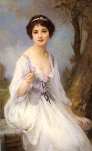 Charles Amable Lenoir - The Pink Rose