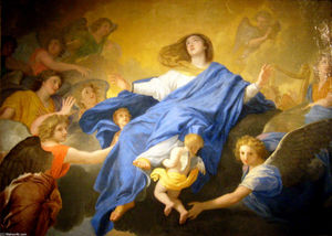 Charles Le Brun - Assumption of the Virgin