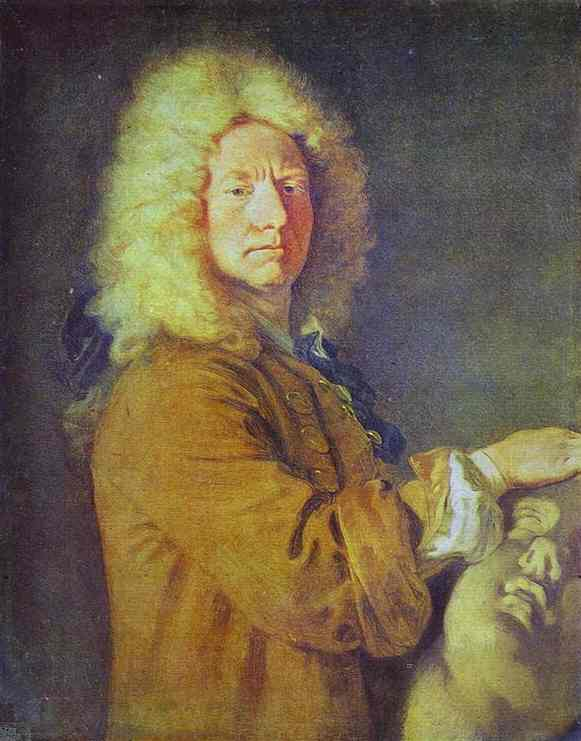 Order Art Reproduction : Portrait of M. Pater by Jean Antoine Watteau (1684-1721, France) | ArtsDot.com