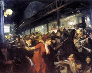 John Sloan - Election Night