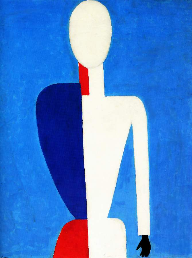 Order Paintings Reproductions | Prototype of a new image by Kazimir Severinovich Malevich (1879-1935, Ukraine) | ArtsDot.com