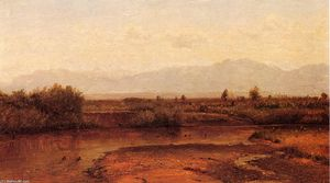 Thomas Worthington Whittredge - On The Cache La Poudre River, Colorado 1