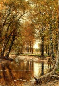 Thomas Worthington Whittredge - Spring on the River