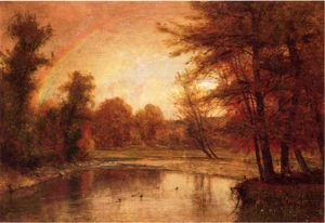 Thomas Worthington Whittredge - The Rainbow