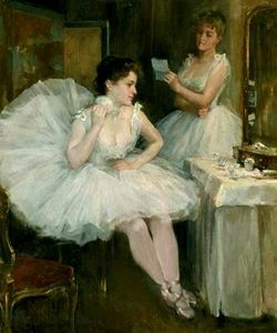 Willard Leroy Metcalf - Ballet Dancers
