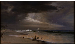 William Trost Richards - Near the Inlet, Atlantic City