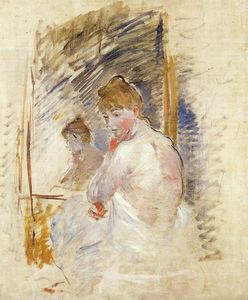 Berthe Morisot - Getting out of Bed